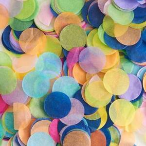 Multi-Color Tissue Paper Confetti