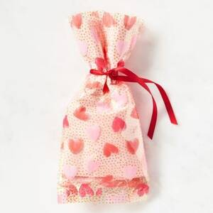 Red & Pink Heart Cello Bag