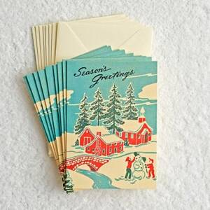 Winter Wonderland Holiday Card Set