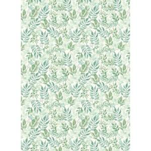 Watercolor Garden Wrapping Paper