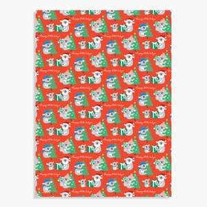 Happy Koala Days Wrapping Paper