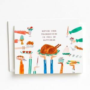 Full of Happiness Thanksgiving Card