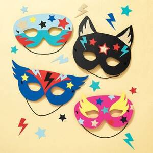 Superhero Paper Mask Kit