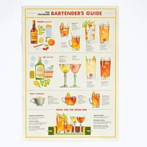 Bartender's Guide Flat Wrap