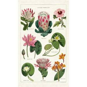Tropical Plants Tea Towel