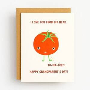 To-Ma-Toes Grandparent's Day Card