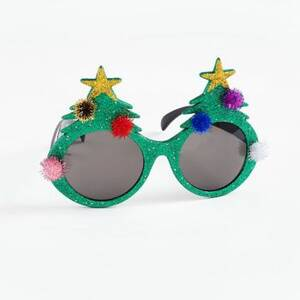 Christmas Tree Glitter Sunglasses