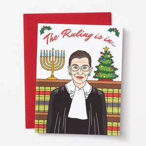 Ruling is In Holiday Card