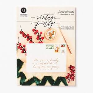 Christmas Wreath & Ornament Postage