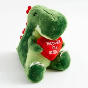 Dinosaur Heart Plush