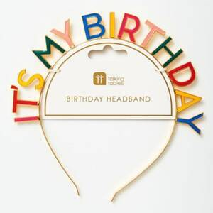 It's My Birthday Headband