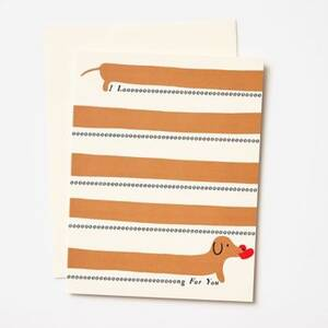 Long for You Valentine Card