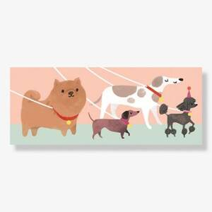 Dog Squad Popup Birthday Card