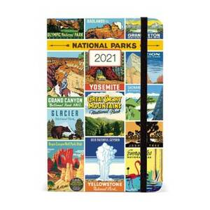 2021 National Parks Small Planner