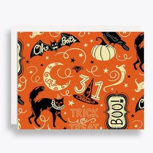 Spooky Halloween Stationery Set