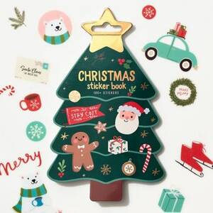 Christmas Tree Sticker Book