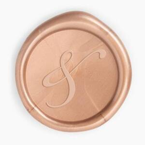 Rose Gold Ampersand Wax Seal