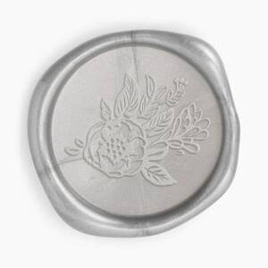 Silver Bouquet Wax Seal