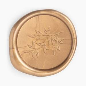 Gold Branch Wax Seal