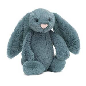 Bashful Dusky Blue Bunny Plush