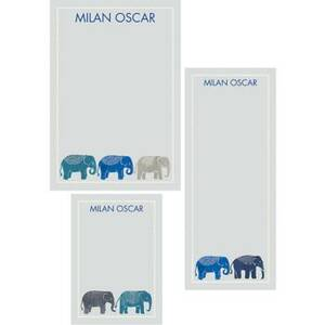 Elephants Mixed Personalized Note Pads