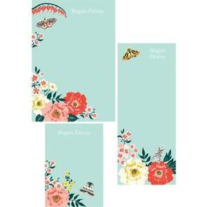 Garden Tea Mixed Personalized Note Pads