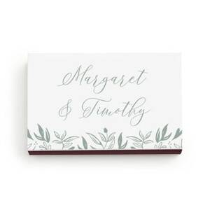 Garden Custom Matchboxes