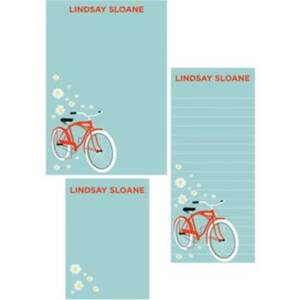 Bikes Mixed Personalized Note Pads