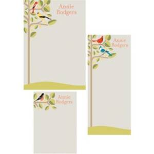 Birds Mixed Personalized Note Pads