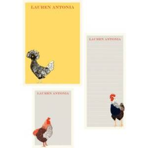 Chicken Mixed Personalized Note Pads