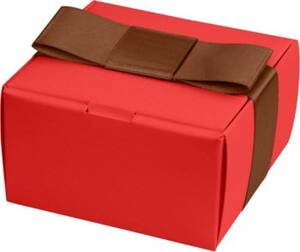 Classic Square Favor Box - Red