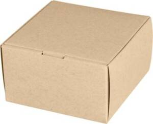 Classic Square Favor Box - Paper Bag