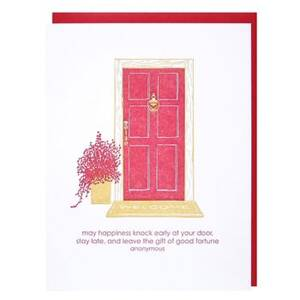 Front Door Housewarming Greeting Card