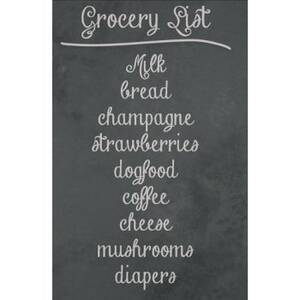 Wallies Removable Extra Large Chalkboard Panel