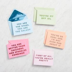 Compliments Stationery Set