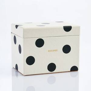 Dot Recipe Box