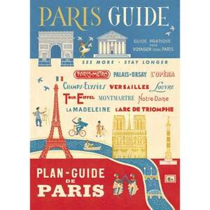 Paris Guide Flat Wrap