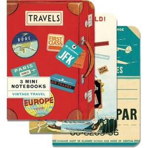 Vintage Travel Mini Journals