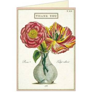 Fleur 2 Thank You Card
