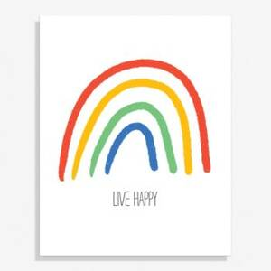 Rainbow Medium Art Print