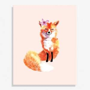 Fox Medium Art Print