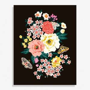 Garden Party Large Art Print