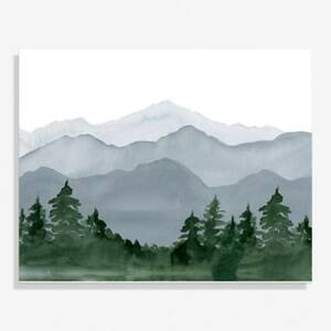 Mountain Medium Art Print