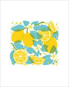 Lemons Medium Art...