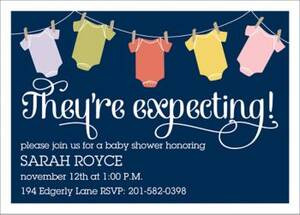 Onesies Baby Shower Invitation