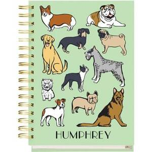 17-Month Dogs Custom Planner