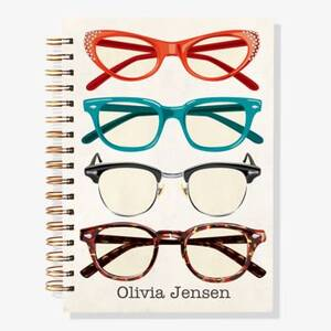 12-Month Eyeglasses Custom Planner