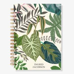 17-Month Leafy Greens Custom Planner
