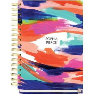 17-Month Painterly Custom Planner
