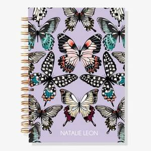 12-Month Butterflies Custom Planner